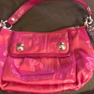 Coach poppy satchel